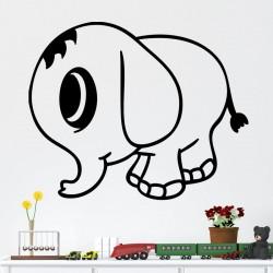 Sticker petit éléphant