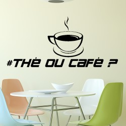 Sticker thé ou café?