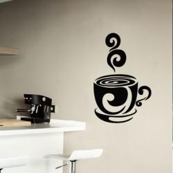 Sticker bonne tasse de café