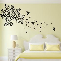 Sticker branches d'arbre et oiseaux