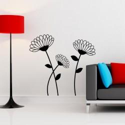 Sticker design fleur 4