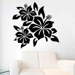Sticker Hibiscus graphiques