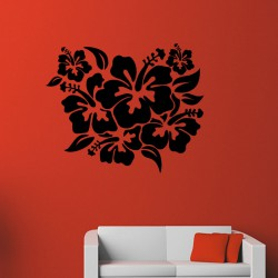 Sticker Style hibiscus