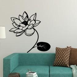 Sticker belle fleur de lotus