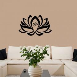 Sticker lotus en style