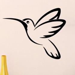 Sticker oiseau volant