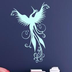 Sticker magnifique oiseau