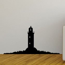 Sticker vue sur un phare