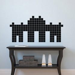 Sticker palais en briques
