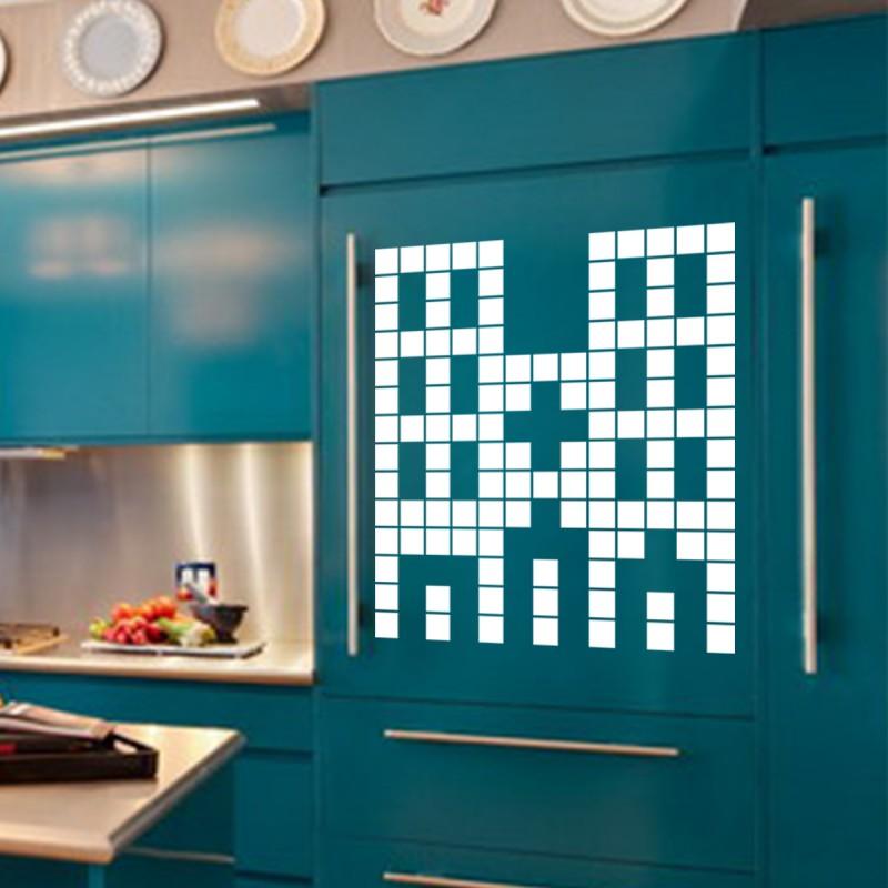sticker immeuble en briques pas cher stickers enfants discount stickers muraux madeco stickers. Black Bedroom Furniture Sets. Home Design Ideas