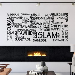 Sticker Islam and sharing 3681
