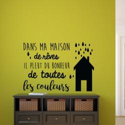Sticker dans ma maison de rêves