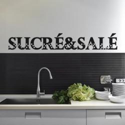 Sticker Sucré & Salé