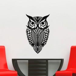 Sticker silhouette d'un hibou