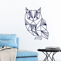 Sticker design hibou en origami