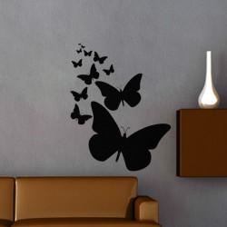 Sticker Lignée de papillons