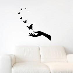 Sticker Evasion de papillons