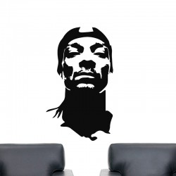 Sticker mural Snoop Dogg