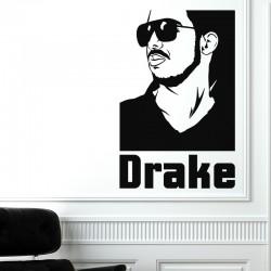 Sticker mural Drake