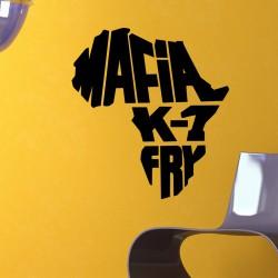 Sticker mural Mafia k1 fry