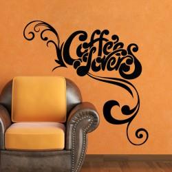 Sticker cuisine Amoureux du café