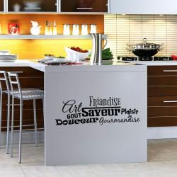 Sticker cuisine Art, goût, saveur