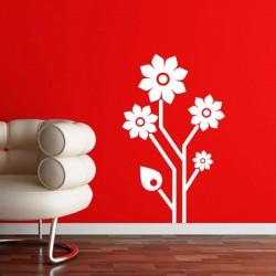 Sticker fleur Fleurs du futur