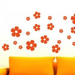 Sticker fleur 30 jolies fleurs
