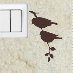 Sticker branche et l'oiseau