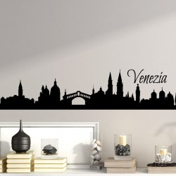 Sticker Venise skyline