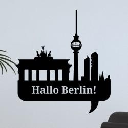 Sticker Bonjour Berlin!