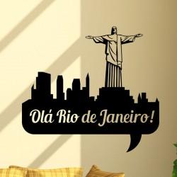 Sticker Bonjour Rio!