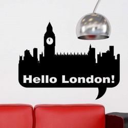 Sticker bonjour Londres!