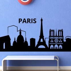 Sticker toits de Paris