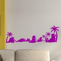 Sticker Les palmiers du désert