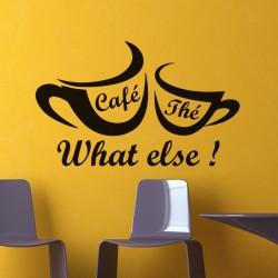 Sticker Café, thé, what else