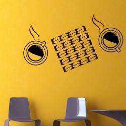 Sticker Café et tasses