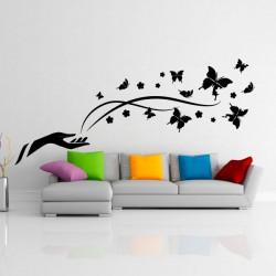 Sticker Magie des papillons