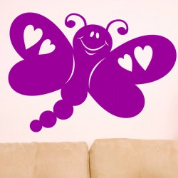 Sticker Papillon de l'amour
