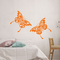 Sticker Duo de papillons