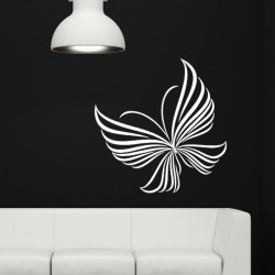 Sticker style papillon