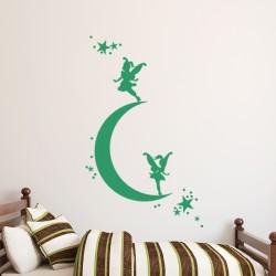 Sticker Les fées et les étoiles