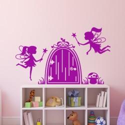 Sticker La cachette des fées