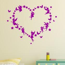 Sticker Le coeur des fées