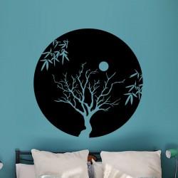 Sticker Nuit dans la forêt