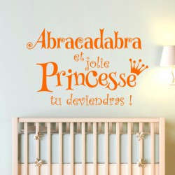 Sticker Jolie princesse