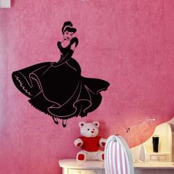 Sticker Jeune fille dansante