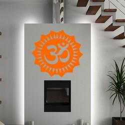 Sticker Fleur orientale Ohm