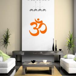 Sticker Design oriental Ohm