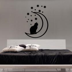 Sticker Chat et étoiles